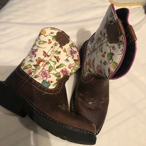 Justin boots for girls